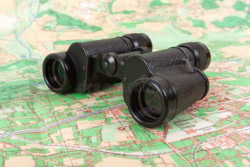 Champ russe d'armée binoculaire photographie stock libre de droits