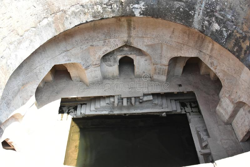 Champa Baoli & Hammam, Mandu, Madhya Pradesh imagens de stock royalty free