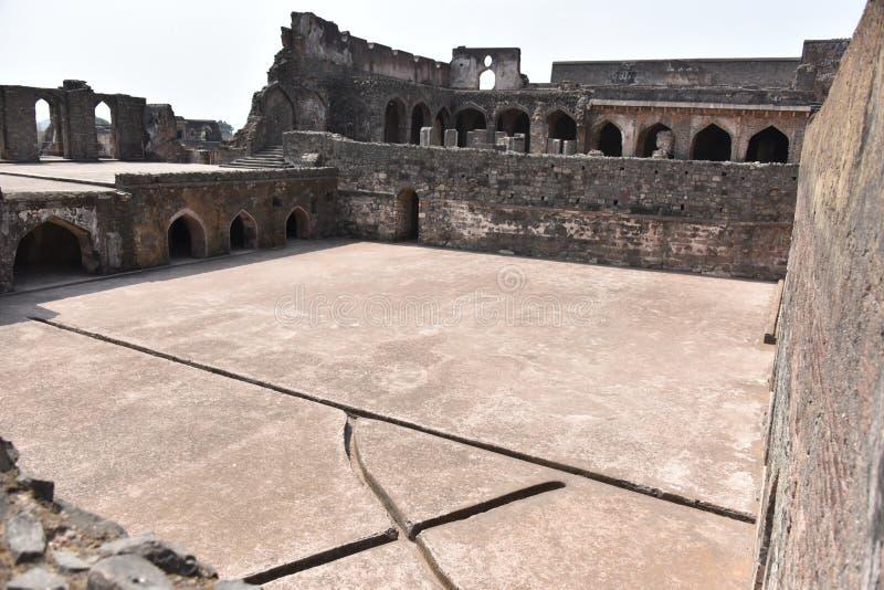Champa Baoli & Hammam, Mandu, Madhya Pradesh fotografia de stock