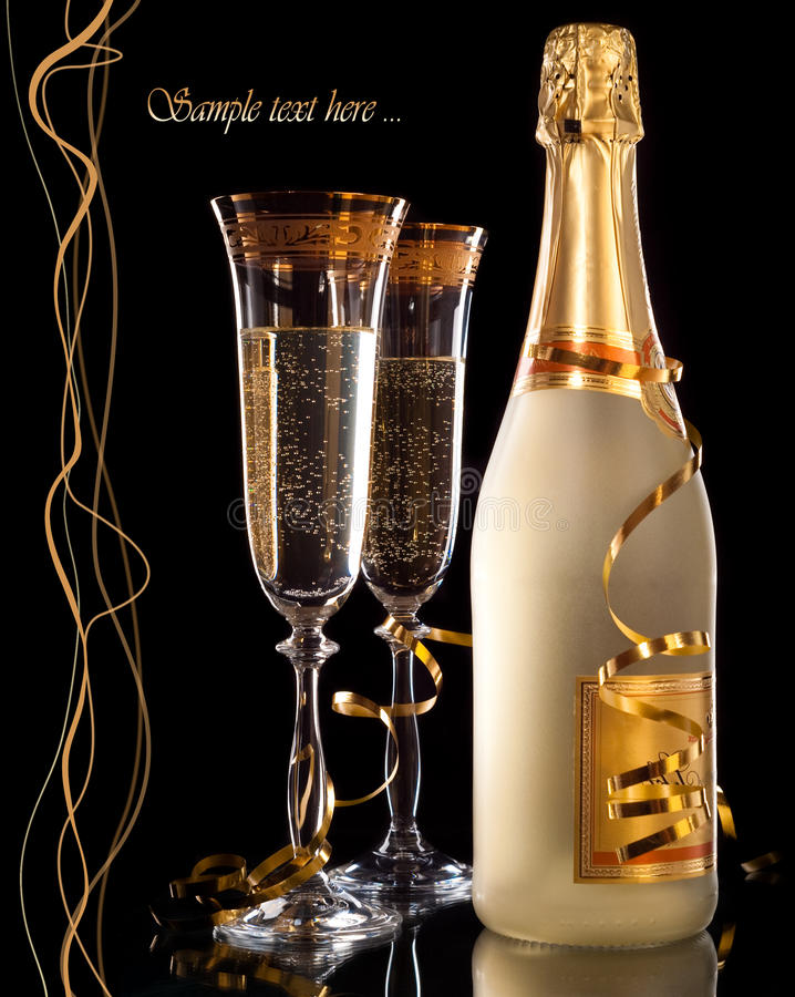 Champagne photos stock