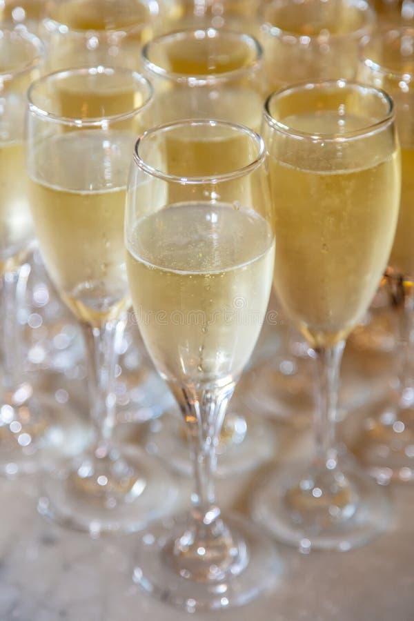 Champagne stockfotos