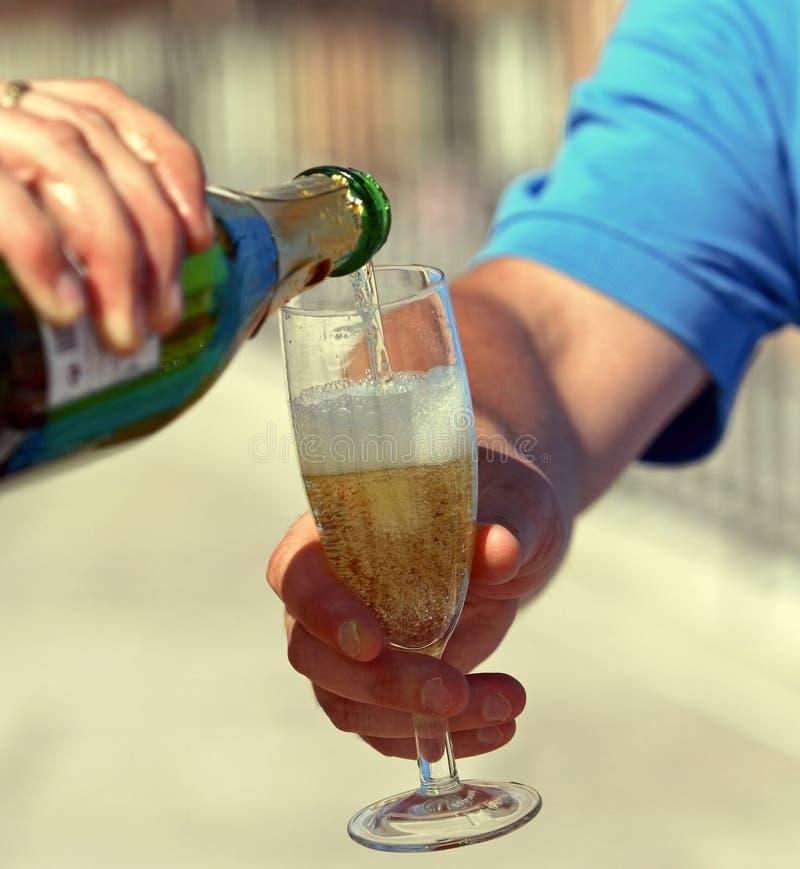 champagne arkivbild