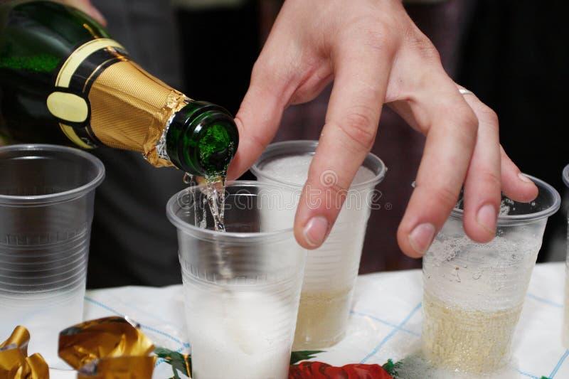 Download Champagne stock image. Image of color, drop, bottle, celebration - 16366247