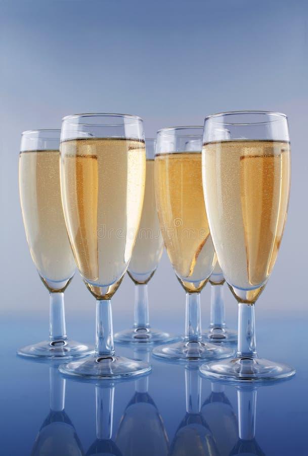 Champagne stock foto