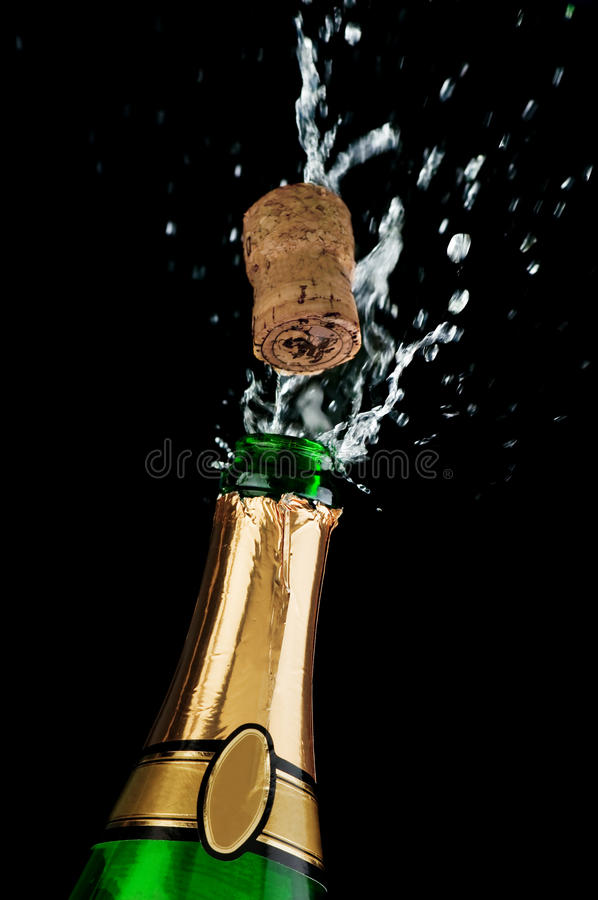 Download Champagne stock photo. Image of splashing, bottle, gold - 17453066