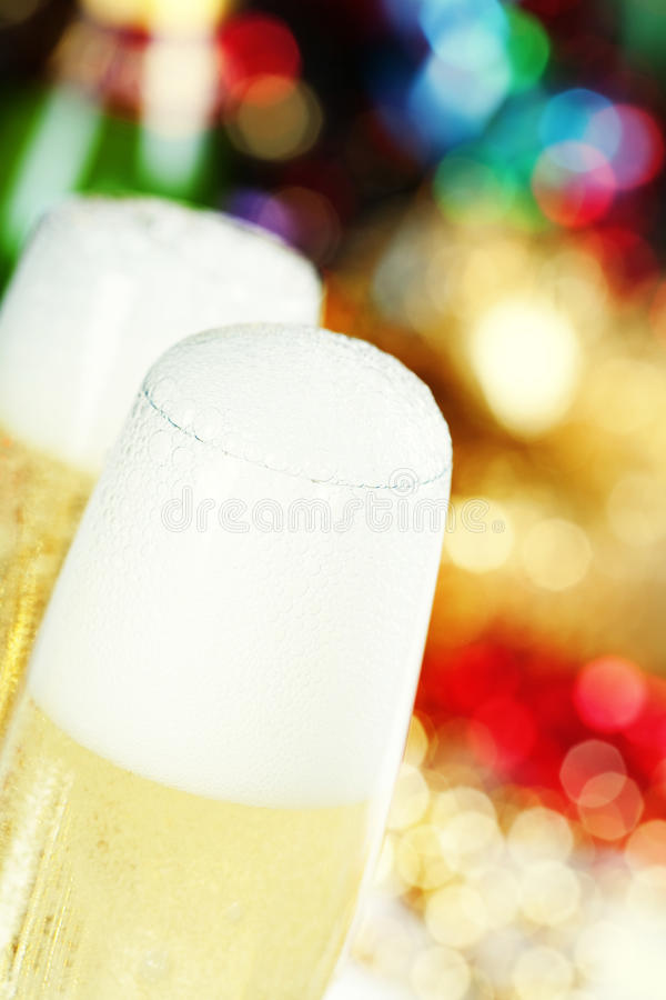 Champagne stock photography