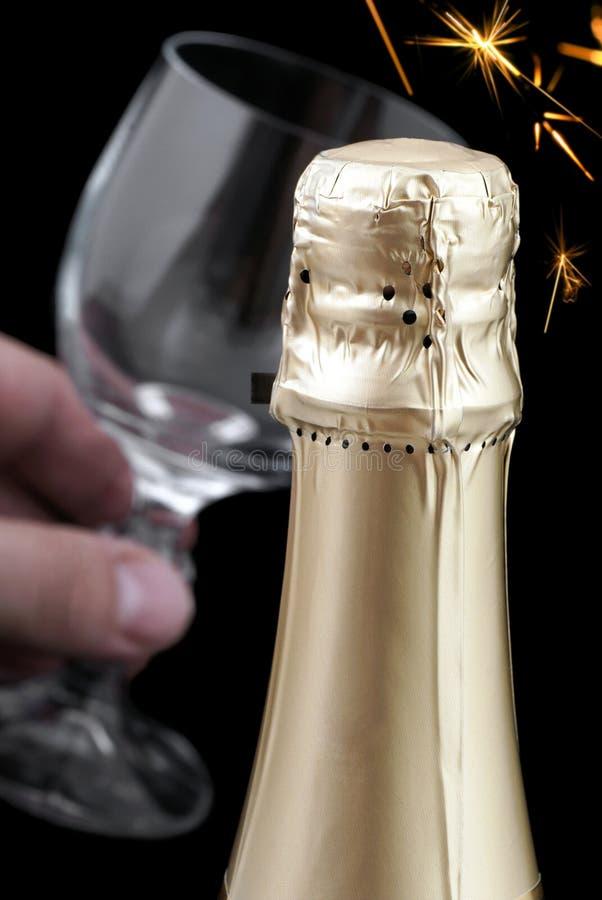 Champagne. royalty-vrije stock foto's