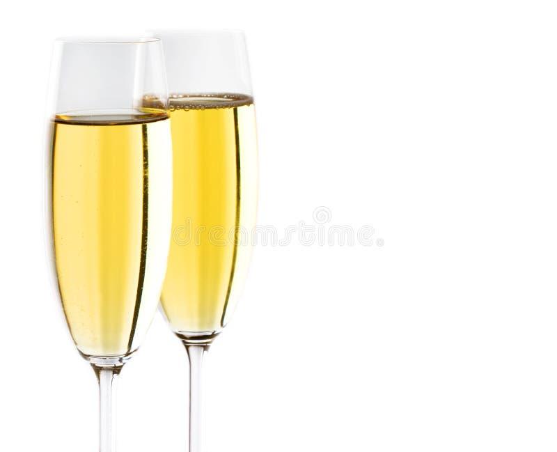champagne royaltyfri fotografi