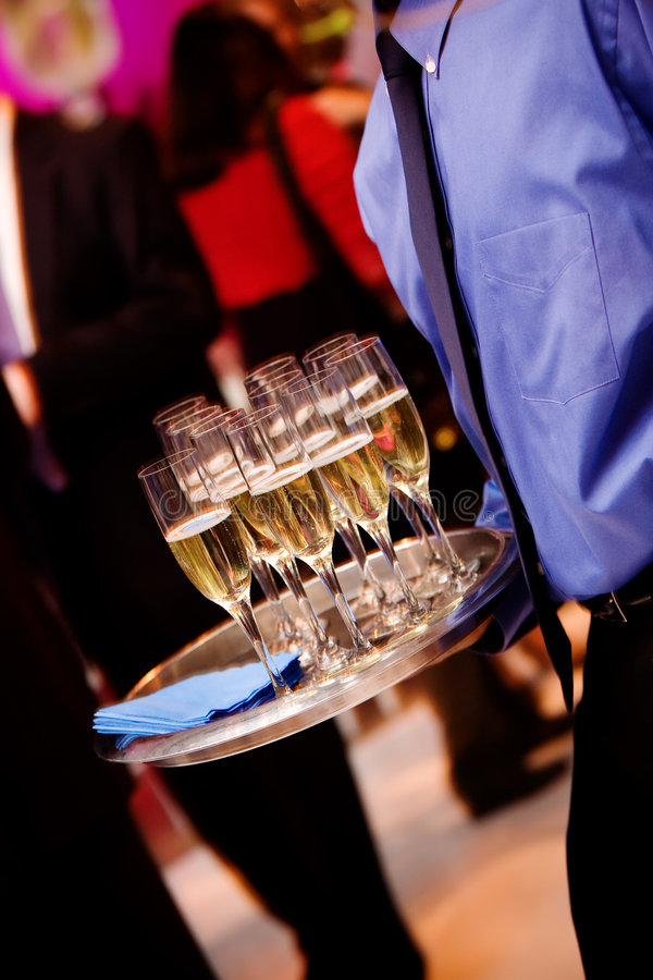 Champagne photo stock