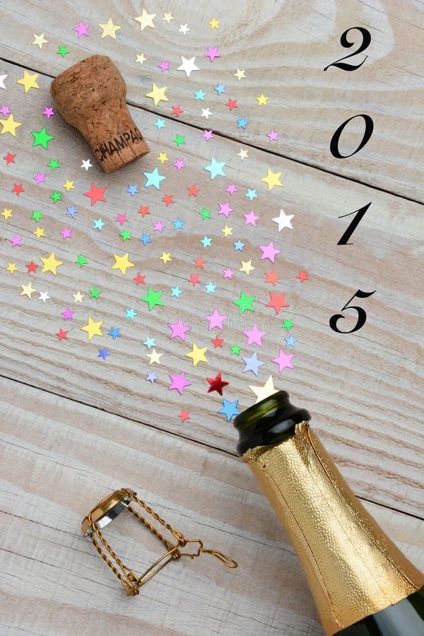 Champagne 2015 stockfoto