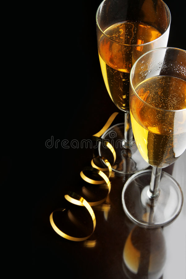 Champagne lizenzfreie stockfotos