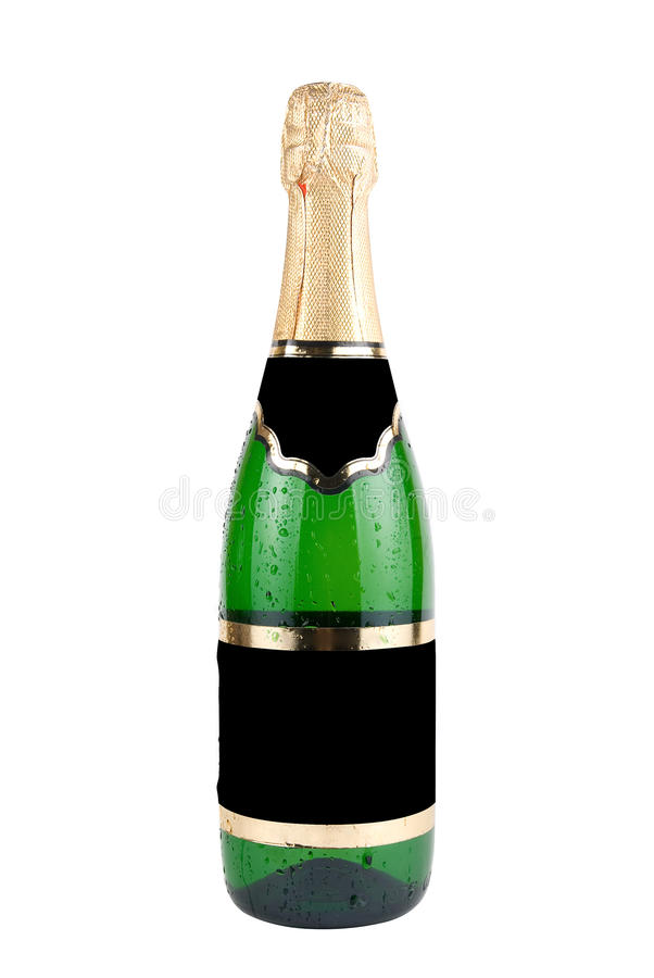 Download Champagne bottle stock photo. Image of isolated, champagne - 10559926