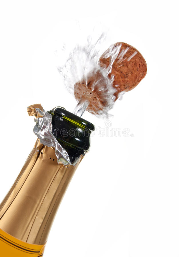Champagne Bottle Royalty Free Stock Images