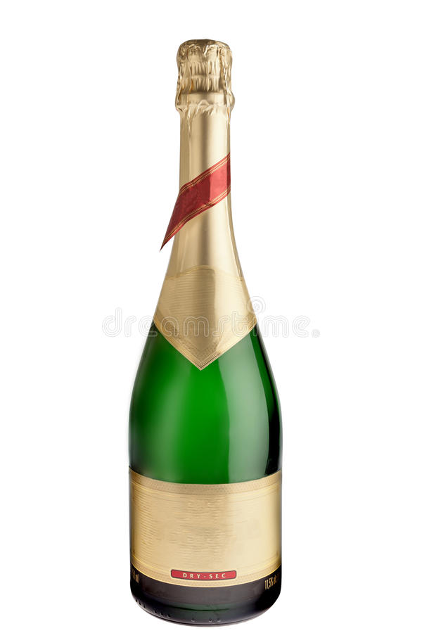 Download Champagne Bottle stock photo. Image of path, alcohol - 24093106