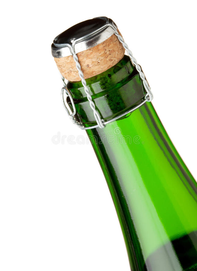 Free Champagne Bottle Neck Stock Photography - 15382352