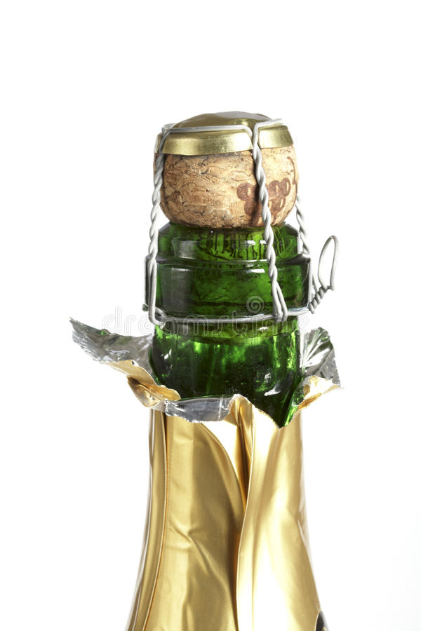 Download Champagne Bottle Neck And Cork Stock Photo - Image: 11829080