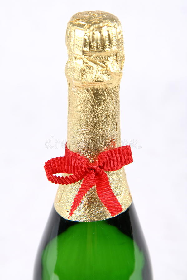 Download Champagne Bottleneck Royalty Free Stock Photography - Image: 12839747