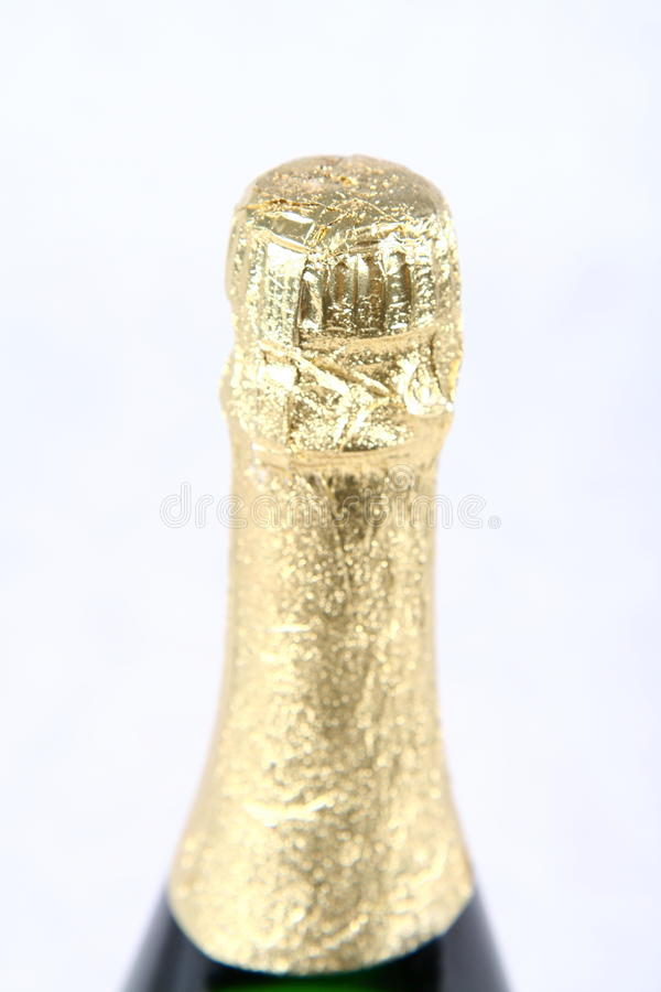 Download Champagne bottleneck stock image. Image of white, bubbles - 12868141