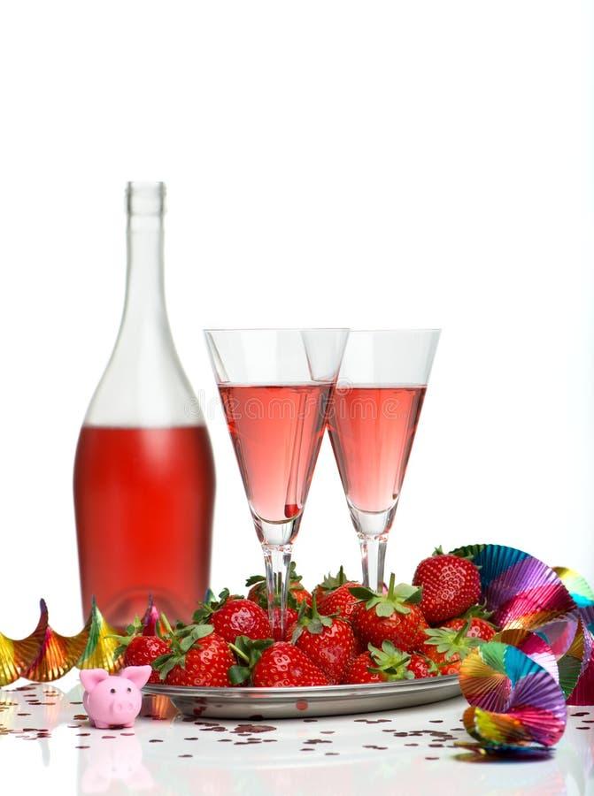 Champagne Breakfast fotografia de stock royalty free