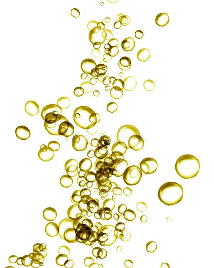 Champagne bubblar vektor illustrationer