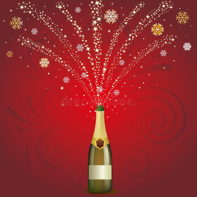 Champagne Celebrate Background Stock Photos