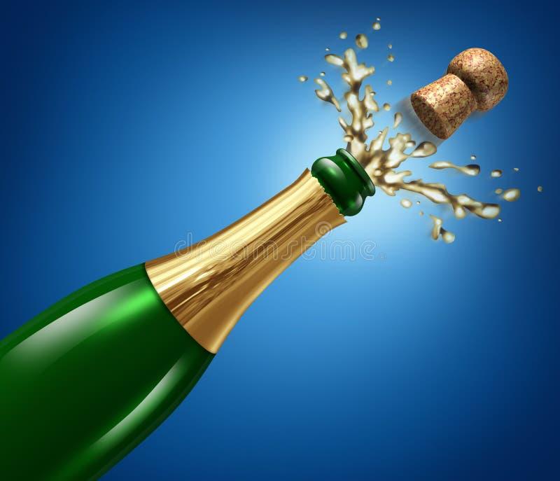 Download Champagne Celebration stock illustration. Illustration of flying - 22593999