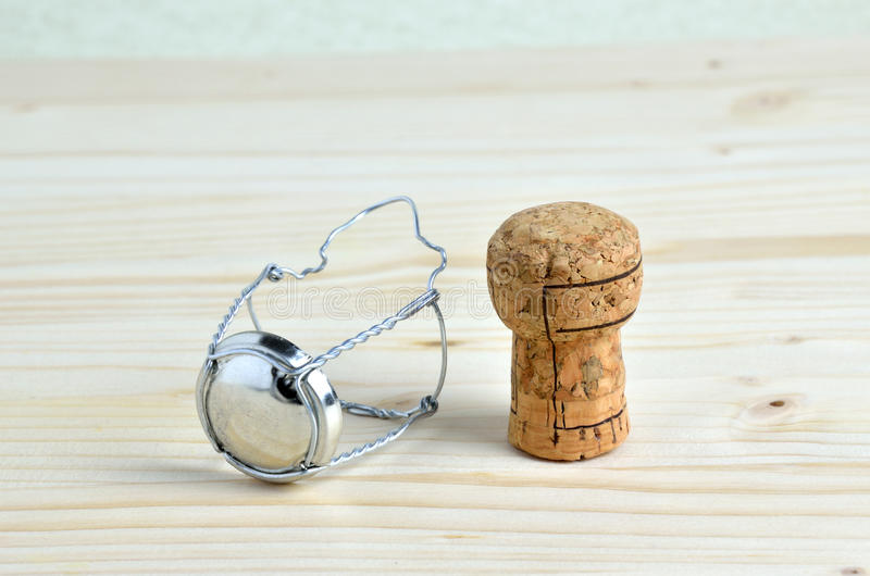 Champagne Cork and Cap stock photo. Image of sparkling - 66215166