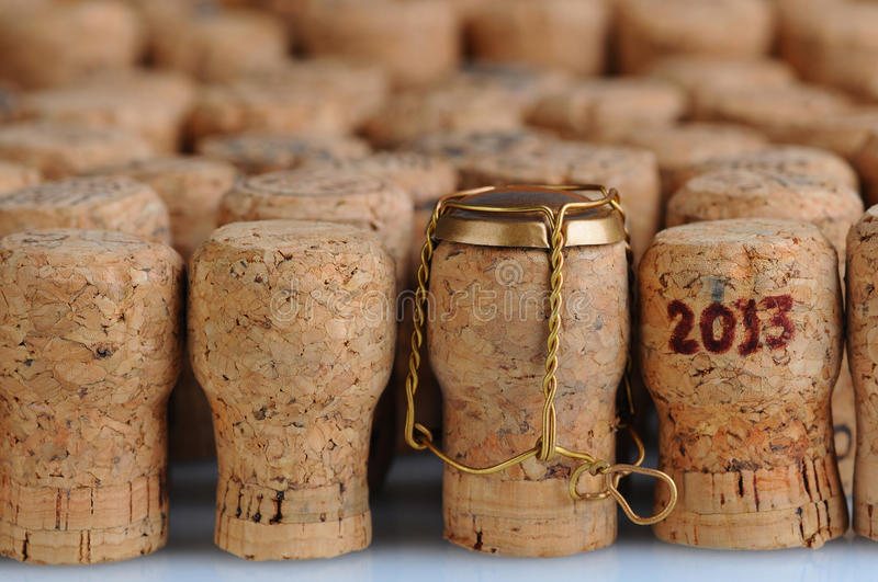 Download Champagne Corks With 2013 Date Stock Image - Image: 27845029