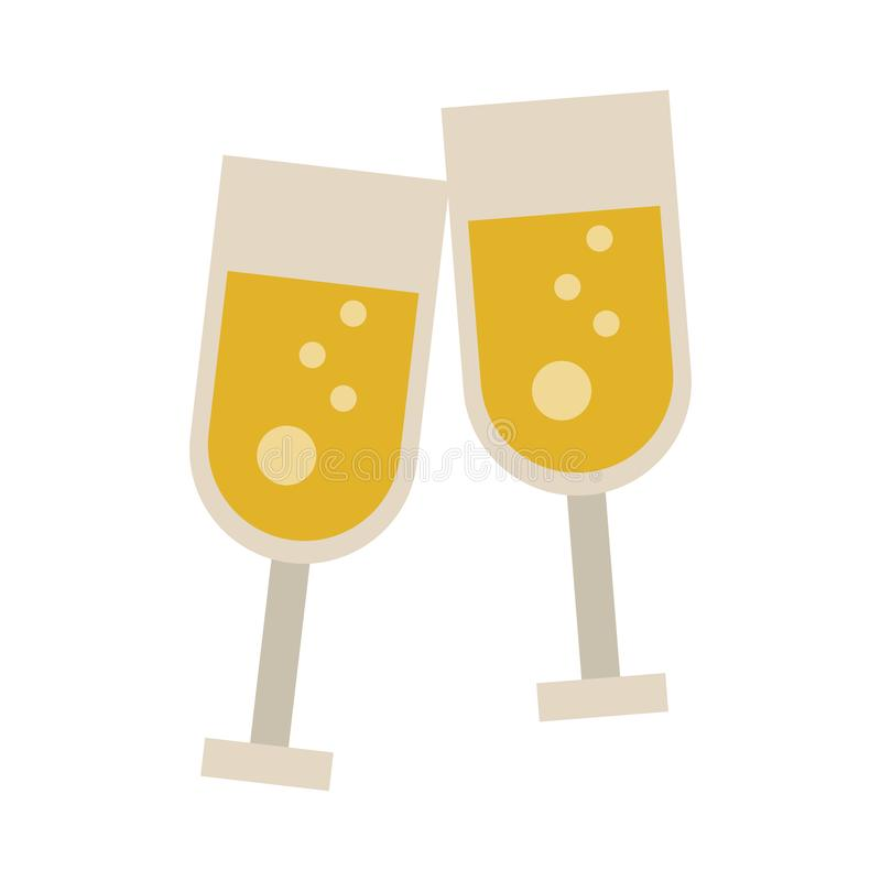 Free Champagne Cups Toast Royalty Free Stock Images - 137506279