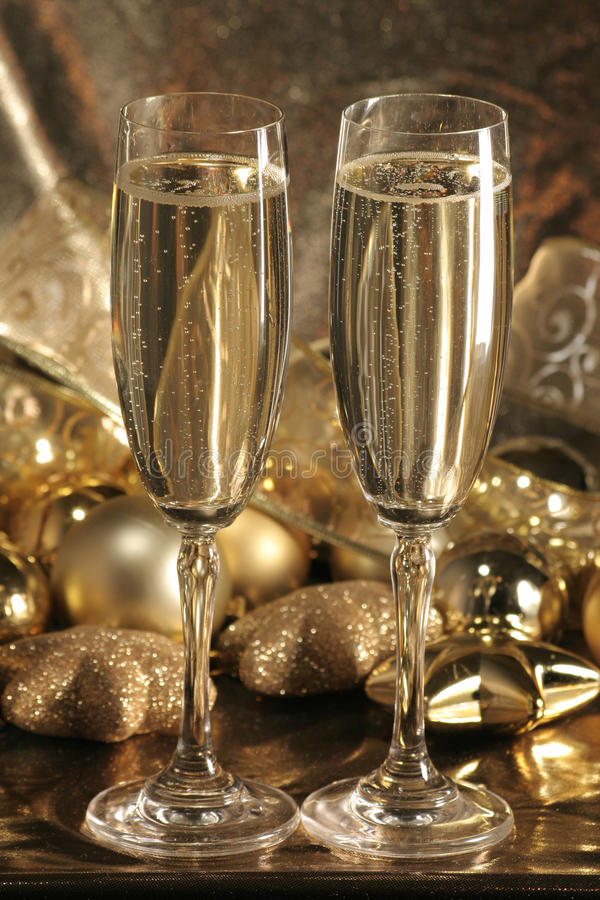 Free Champagne Cups2 Royalty Free Stock Image - 22293126