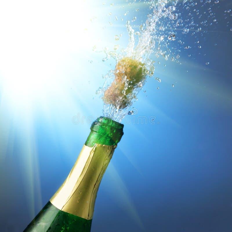 Champagne d'an neuf photos libres de droits