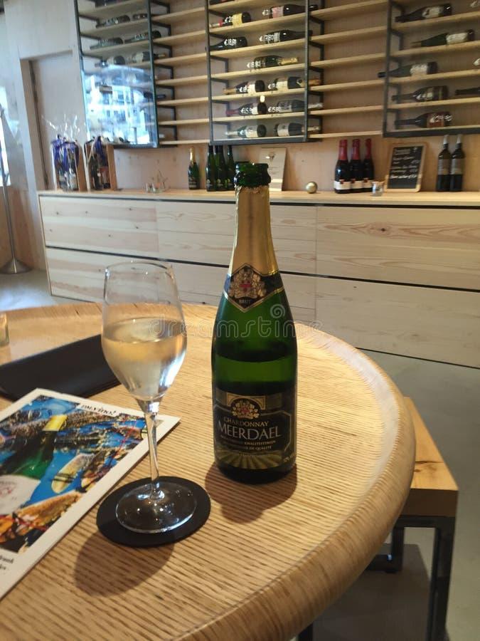 Champagne del vino fotografia stock