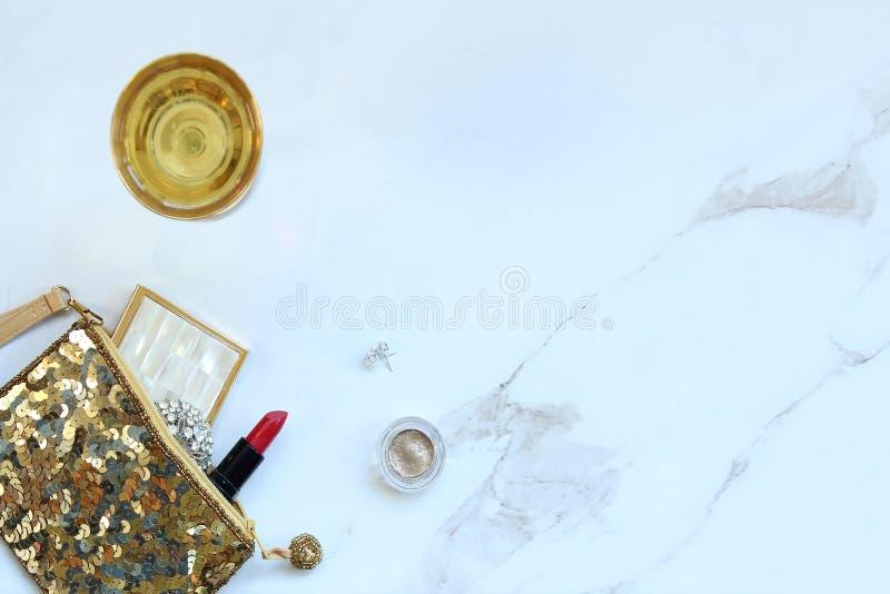 Champagne-dromen stock fotografie