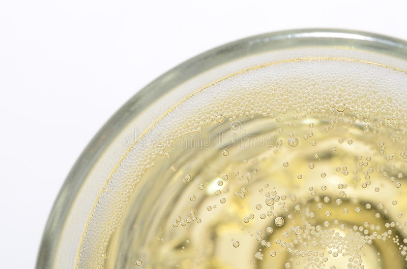Champagne en glace images stock
