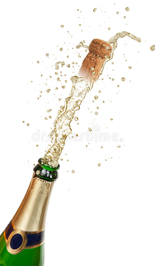 Royalty Free Stock Photography Champagne Explosion Image26523937