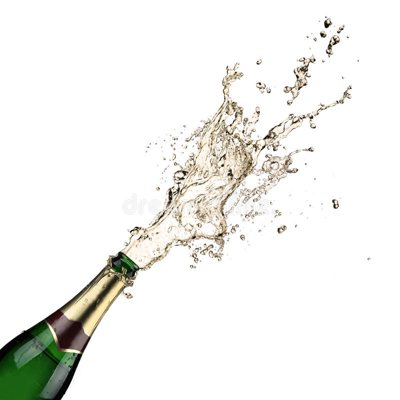 Royalty Free Stock Photos Champagne Explosion Image26896378