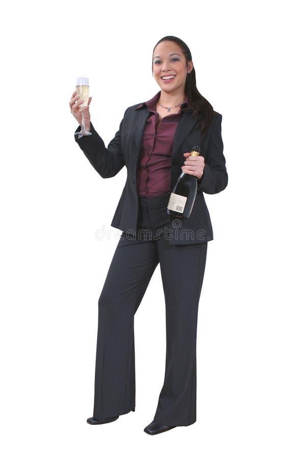 Champagne-Feier Lizenzfreie Stockfotografie