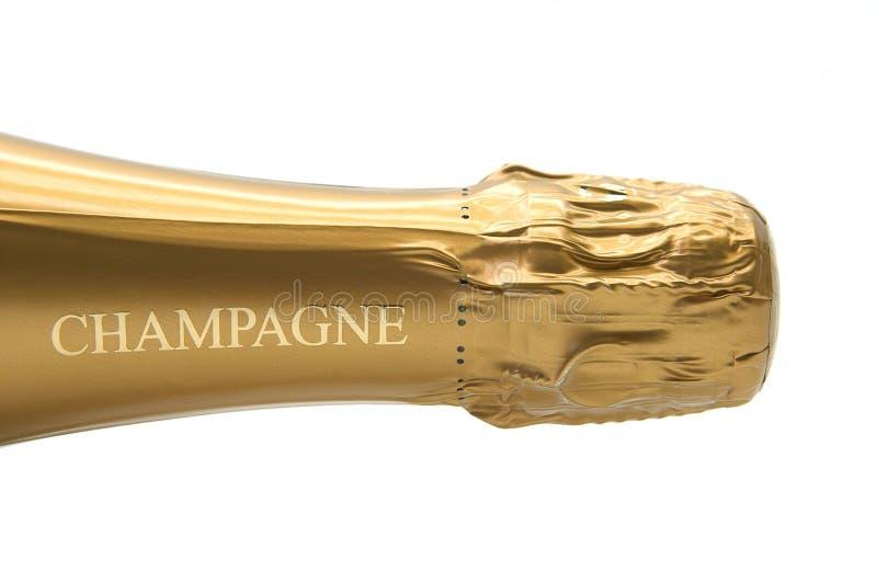 Champagne-Flasche lizenzfreie stockfotos