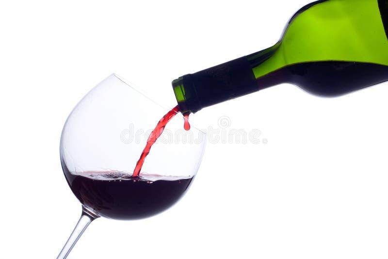 Champagne-Flasche lizenzfreie stockbilder