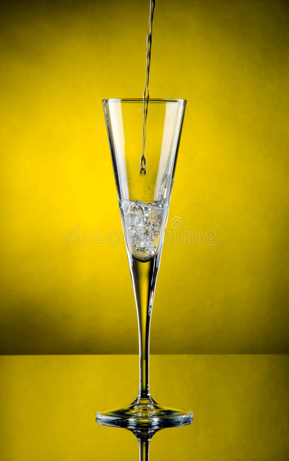 Download Champagne flows stock image. Image of jubilee, background - 21947541