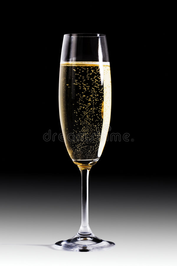Champagne flute royalty free stock images