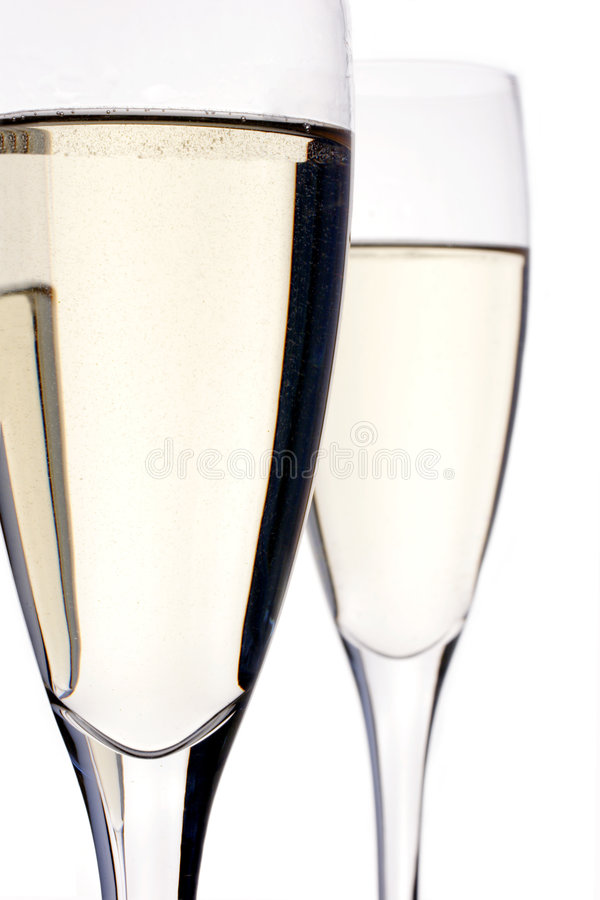 Free Champagne Flutes Royalty Free Stock Images - 487229