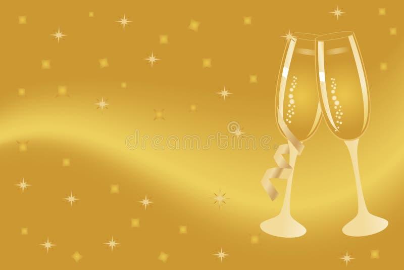 Download Champagne Flutes For Celebration Stock Vector - Image: 16757832