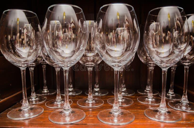 Champagne-Gläser stockfotografie