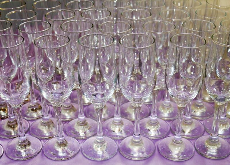 Champagne-Gläser II stockfotografie