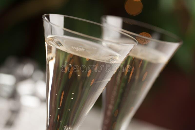Champagne-Glas-Auszug lizenzfreie stockfotografie