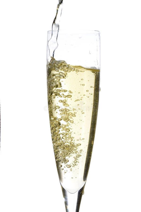 Champagne-Glasfeier lizenzfreies stockfoto