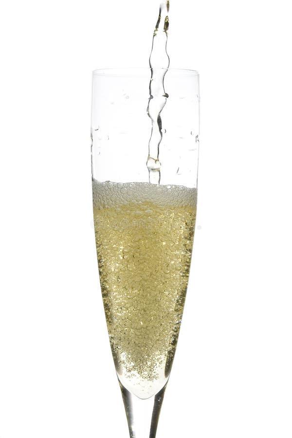 Champagne-Glasfeier lizenzfreie stockbilder