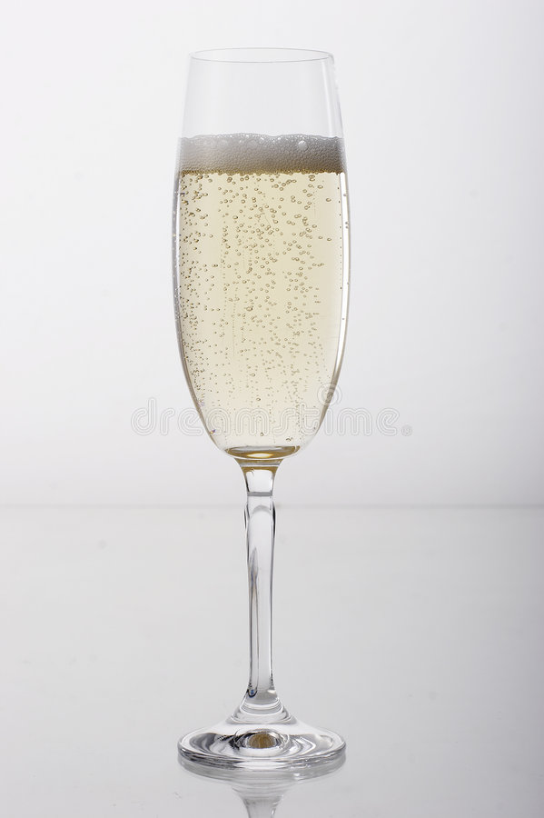 a champagne glass * obraz royalty free