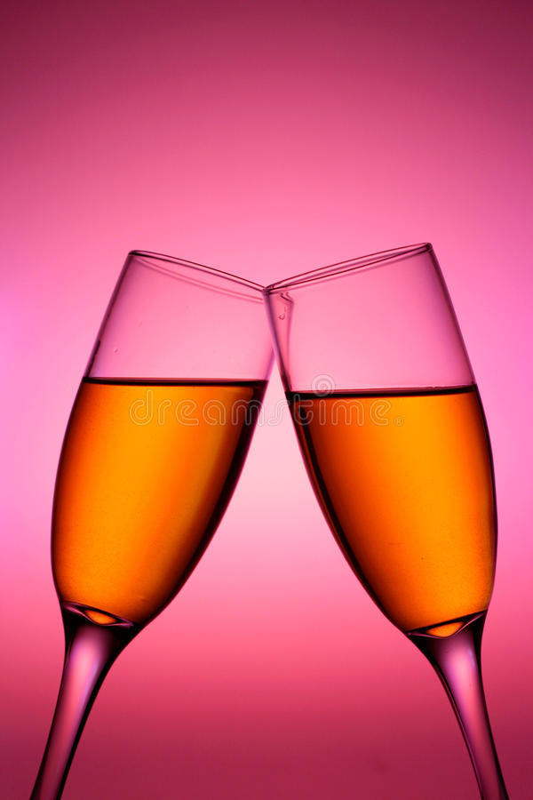 Download Champagne In Glass Cups Royalty Free Stock Images - Image: 31908149
